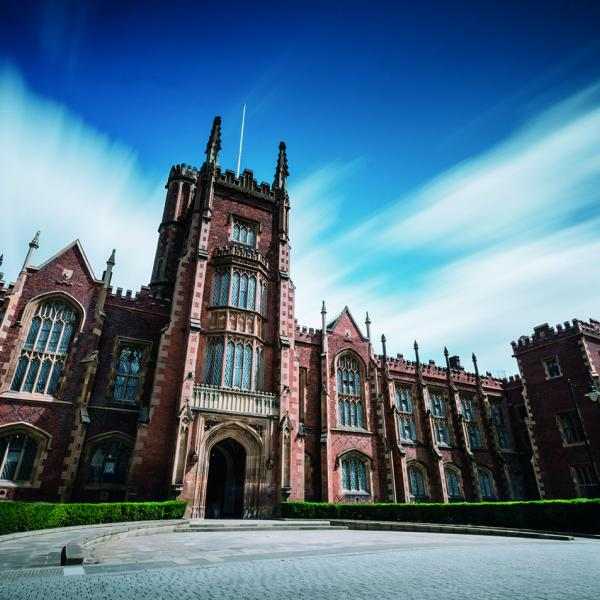 Building at Queen's University Belfast